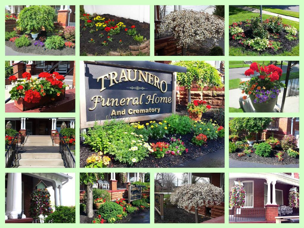 The Impressive And Vibrant Gardens, Plants And Flowers Growing At Traunero  Funeral Home And Crematory In Tiffin, OH. A True Horticultural Mecca!