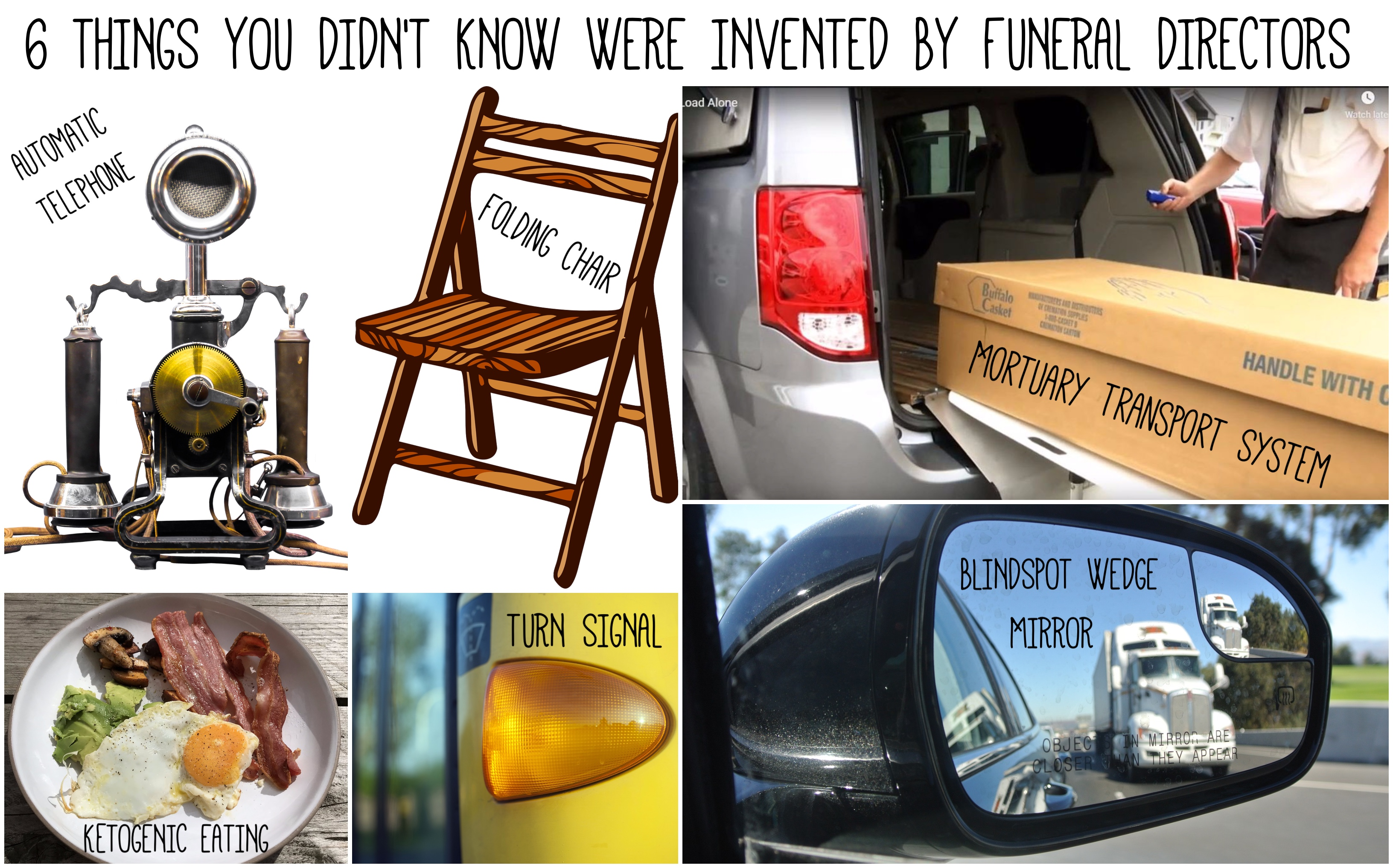 6 Things You Didn\'t Know Were Invented By Funeral Directors