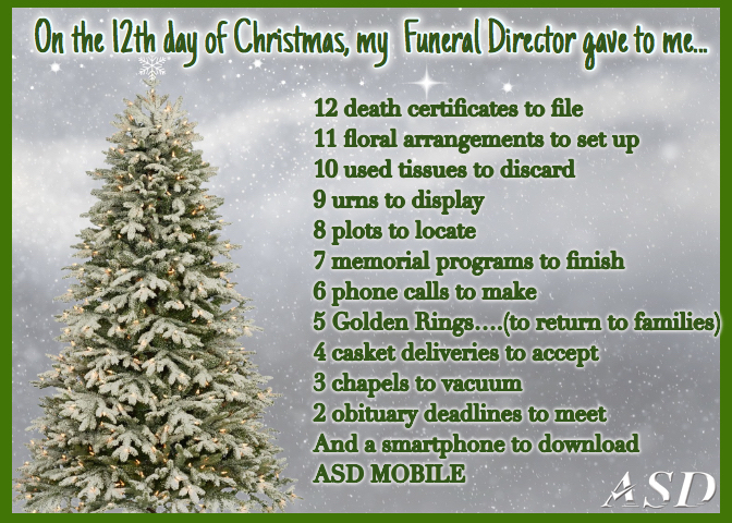 12 days of christmas funeral home remix - 12 Days Of Christmas Remix